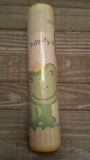 LAMBS & IVY FROGGY TALES FROG DUCK  NURSERY PREPASTED WALL BORDER ROLL  NEW