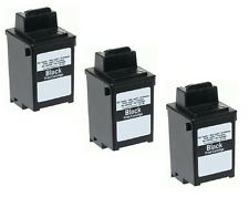 3 x INK for Samsung Fax SF3000 SF3100 SF3200 compatible with INK-M10 BLACK