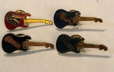 Pink Floyd Rush Clash Saxon 4 Vintage Rock'N'Roll Guitar Pins