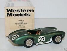 WESTERN MODELS 1/43 WRK29 - 1955 ASTON MARTIN DB3S LE MANS #23