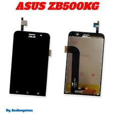 "P1 DISPLAY + TOUCH SCREEN per ASUS ZENFONE GO 5"" ZB500KG X00BD VETRO NERO NUOVO"