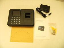 Employee Biometric Fingerprint Time Attendance Clock Check In Out Payroll Finger