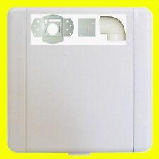 Saugdose runder Deckel rechteckig 8 x 12 cm PLASTIFLEX Zentralstaubsauger