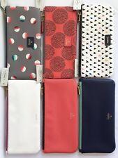 FOSSIL Paige Pouch Zip Pencil-Cosmetic Case Makeup $15 each