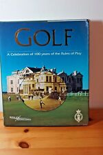 Golf A Celebration 100 Years of Rules of Play Hardcover Large Format DJ EX Order