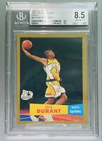 2007 Kevin Durant TOPPS GOLD 1957-58 VARIATIONS #112 /2007 BGS 8.5, 9.5 sub💎PSA