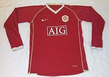 2007 MANCHESTER UNITED HOME NIKE 18/20 YXL SMALL UEFA CHAMPIONS JERSEY RONALDO