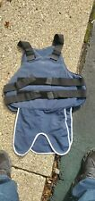 Bullet proof vest body armor used