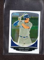 AARON JUDGE 2013 Bowman Chrome Mini Draft Picks #311 NY Yankees Rookie Card RC