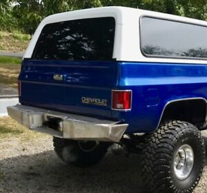 Chevy K5 Blazer 1981-1991 aftermarket Rear Bumper MADE IN USA 🇺🇸 Logansmetal