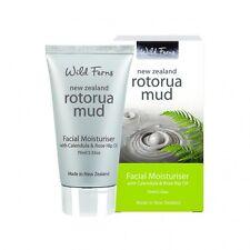 New Wild Ferns Rotorua Mud Facial Moisturiser with Calendula & Rose Hip Oil 75ml