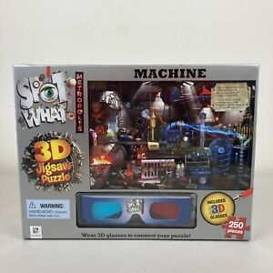 Spot What 3D Jigsaw Puzzle 250 Pieces Brand New + Free Postage