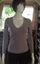 Lilac Cotton And Elastane Lilac Top By Kew Small Size.