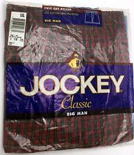 JOCKEY-FULL CUT BOXER --5XL--BIG MAN--55%C0TTON