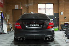 V Style Duckbill Trunk Spoiler For MY11-15 Mercedes-Benz W204 C-Class (CARBON)