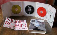 MURIEL ROBIN SE PLIE EN QUATRE 4 DVD ZONE 2