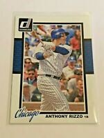 2014 Panini Donruss Baseball Base Card - Anthony Rizzo - Chicago Cubs
