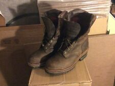 "CHIPPEWA BOOTS size 11,MADE IN USA , 9"" LOGGER, WATERPROOF ,STEEL TOE"