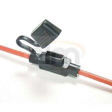 Protegido contra salpicaduras 30a en la línea Mini Blade portafusibles