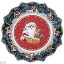 Villeroy & Boch TOY'S FANTASY Large Bowl: Santa Reading # 3751