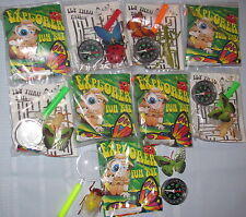 9 Lot Bugs Explorer Sets Magnifier Compass BUG INSECT Party Favors Free Stickers