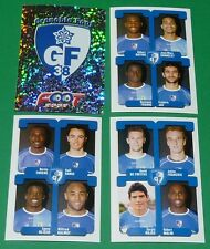 PANINI FOOTBALL FOOT 2005 GRENOBLE GF 38 COMPLET FRANCE 2004-2005