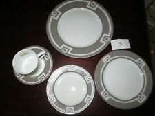 Bernardaud ~Stunning Olbia 5 Piece Place Set ~ NWT From A Closed Jewelry Store 3