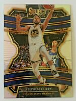 2019-20 Panini Select Silver Stephen Curry #91 Golden State Warriors