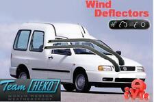 VW POLO CLASSIC / VARIANT / CADDY 4d 02/1996-   Wind deflectors 2.pc  HEKO 28205
