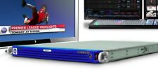 Chyron IP (Lyric) real-time HD/SD 2D/3D graphics generator for NewTek TriCaster