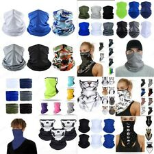 6pc Sports Face Masks Scarf Neck Cover Tube Bandana Motorcycle Cycling Outdoor 米