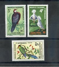 NEW CALEDONIA Sc 363-5(YT 347-9)*F-VF LH 1968 BIRD SET $36