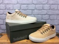 TIMBERLAND MENS ALPINE OXFORD NATURAL CUPSOLE TRAINERS VARIOUS SIZES RRP £110
