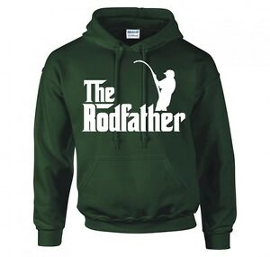"""THE RODFATHER """"FISHING"""" HOODIE NEW"""
