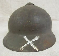 Imperial Russian Army WWI Sohlberg M17 Helmet With the Tactiсal Sign.