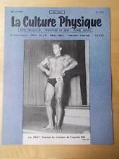 LA CULTURE PHYSIQUE bodybuilding muscle magazine/LEO REMY 5-56