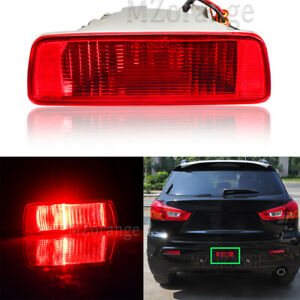 For Mitsubishi ASX RVR 2010-2015 2016 Rear Tail Bumper Fog Lamp Light Reflector