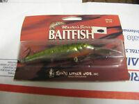Lindy Little Joe Baitfish Shadling Musky Muskie Pike Lure Fishing - MACKEREL #7