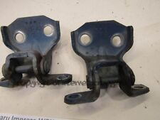 Subaru Impreza MK2 bugeye 00-07 RH right front door hinges hinge x2