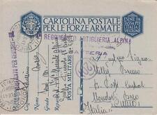A2190) WW2 ALPINI, BOLLO 4 REGGIMENTO ARTIGLIERIA ALPINA 8 BATTERIA.