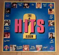 Various ‎– Hits 2 - The Album 2× Vinyl LP Comp 33rpm 1985 CBS ‎– HITS 2