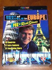 Rick Steves Best of Travels in Europe PBS Travel series (DVD 6-Disc Set)