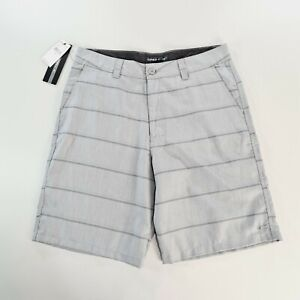 ONEILL Mens Grey Plaid Casual Shorts Size 32 NWT