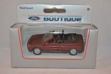 Boutique  Ford Escort Cabrio    1:43   Mint in Box.