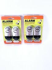 Door Window Alarm 4 Pack Home Security Wireless Magnetic Sensor Burglar