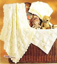 SHAWL,PRAM & COT COVER - COPY baby knitting pattern