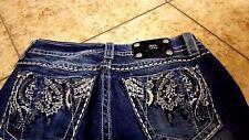 Miss Me Women's Jeans Sz 28 Boot Cut  Blue  Denim
