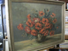 Originale künstlerische Malerein der Zeit Art Deco-Stillleben -