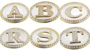 Initial A C F G J P R Men New Belt Buckles Alphabet Hebilla de cinturón inicial