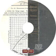 1927 Aircraft Design Course { Vintage Flight ~ Airplanes } on DVD